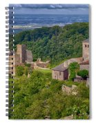 Saissac France Color Img 7740 Spiral Notebook