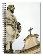 Sait And Cross Spiral Notebook