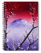 Sakura Spiral Notebook