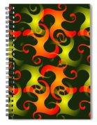 Salamanders Dream Spiral Notebook