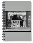 Sale Is On Spiral Notebook