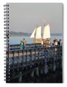 Salem Willows Sailboat Spiral Notebook