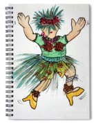 Sales Fairy Dancer 2 Spiral Notebook