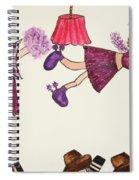 Sales Fairy Dancer 5 Spiral Notebook