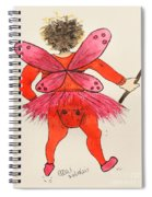 Sales Fairy Dancer 1 Spiral Notebook
