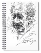 Sali Shijaku Artist Spiral Notebook