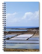 Salinas De Janubio On Lanzarote Spiral Notebook