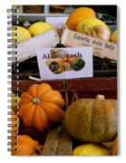 San Joaquin Valley Squash Display Spiral Notebook