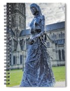 Salisbury Cathedral And The Walking Madonna 2 Spiral Notebook