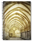 Salisbury Cathedral Cloisters 2 Spiral Notebook