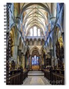 Salisbury Cathedral Spiral Notebook