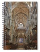 Salisbury Cathedral Quire And High Altar Spiral Notebook