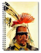 Salish Brave  Spiral Notebook