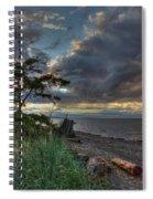 Salish Storm Spiral Notebook
