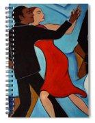 Salle De Danse Spiral Notebook