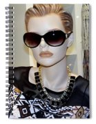 Sally In Shades Spiral Notebook