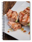 Salmon Teriyaki Skewers Spiral Notebook