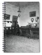 Saloon C. 1890 Spiral Notebook