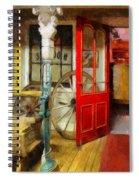 Saloon Spiral Notebook