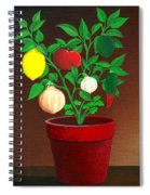 Salsa Plant Spiral Notebook