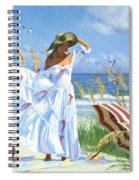 Salt Aire Blues Spiral Notebook