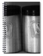 Salt And Pepper Shakers Spiral Notebook