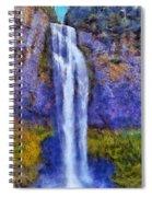 Salt Creek Falls Spiral Notebook