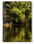 Salt Creek In August Spiral Notebook