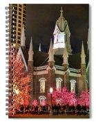 Salt Lake Temple - 3 Spiral Notebook