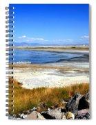 Salt Lake Utah Spiral Notebook