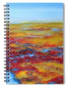 Salt Marsh In Early Autumn Spiral Notebook
