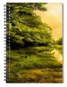 Salt Marsh Kittery Maine Spiral Notebook