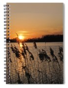 Salt Marsh Sunset Spiral Notebook