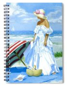 Salt Water Blues Spiral Notebook