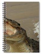 Salt Water Crocodile 2 Spiral Notebook