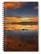 Salton Sea Color Spiral Notebook