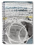 Saltwater- Abstract Painting Spiral Notebook