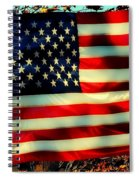 Salute For The Valiant Spiral Notebook