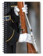 Salute Spiral Notebook