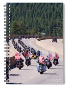 Salute To Veterans Rally Spiral Notebook
