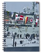 Saluting To Prince Harry Spiral Notebook