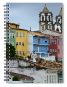 Salvador Brazil The Magic Of Color Spiral Notebook
