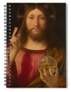 Salvador Mundi Spiral Notebook