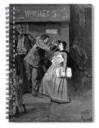 Salvation Army In Slums Spiral Notebook