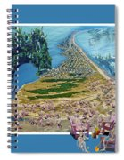 Sam And Topsail's Ghost Pirates  Spiral Notebook