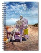 Sam Discovers Bald Head Island Spiral Notebook