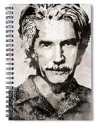 Sam Elliott 3 Spiral Notebook