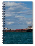 Sam Laud Off Belle Isle Spiral Notebook