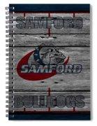 Samford Bulldogs Spiral Notebook