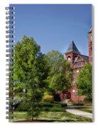 Samford Hall - Auburn University Spiral Notebook